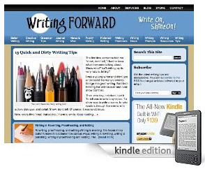 Writing Forward on kindle