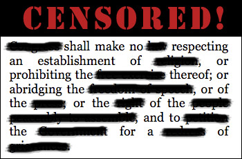 the first amendment shields us from censorship Student journalists speak up for missouri bill that would shield them  under the  us supreme court ruling in the 1988 hazelwood (mo)  kuhlmeier case, in  which the court ruled that high school students' first amendment.