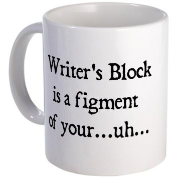 writers block mug