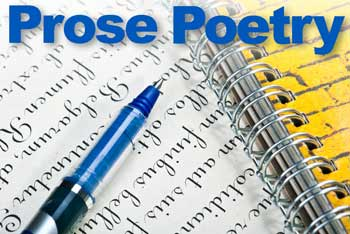 """writing in prose The meaning of purple prose the name """"purple prose"""" comes from the roman poet horace, who compared this style of writing to patches of purple sewn onto clothes."""