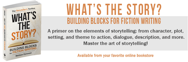 whats the story building blocks for fiction writing