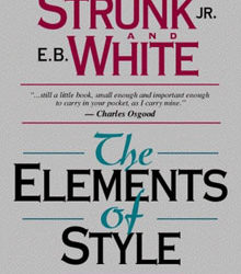 Writing Resources: The Elements of Style