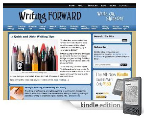 Writing Forward on kindle