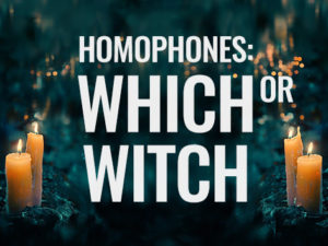 homophones which witch