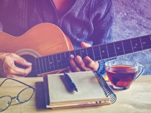 creative writing prompts music lovers