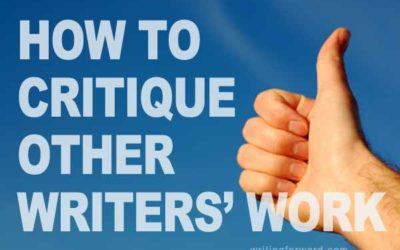 How to Critique Other Writers' Work