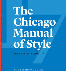 Writing Resources: The Chicago Manual of Style