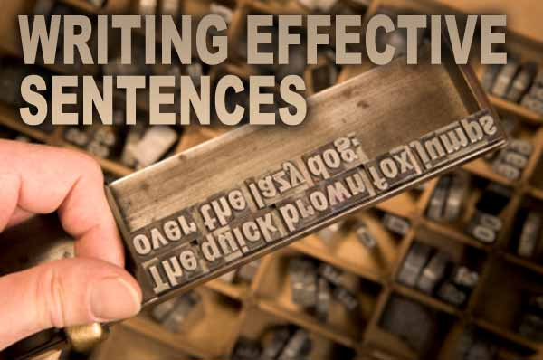 writing effective sentences To avoid any hindrance while delivering your message, topic sentence is kept as the most crucial sector while writing emails, letters and papers through topic sentence, you can make your point across the reader clearly and intelligently.