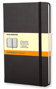 moleskine journal writing