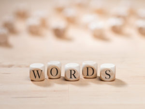words as writing inspiration