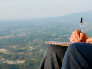 creative writing reflective journaling