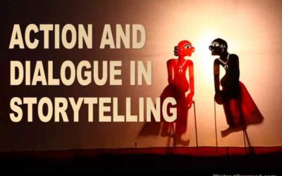 Action and Dialogue in Storytelling