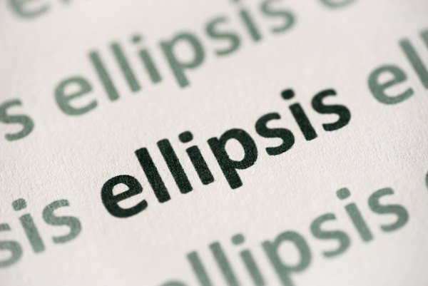 punctuation marks ellipsis
