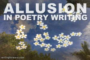 allusion in poetry writing