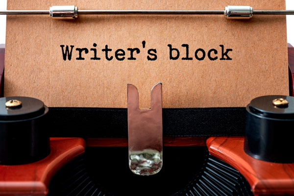 defeat writers block