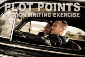 fiction writing exercises plot points