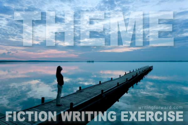 fiction writing exercise theme