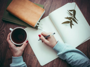 journal prompts aspiring writers