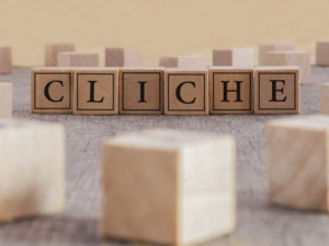 avoid cliches