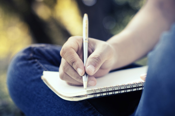 writing while inspired